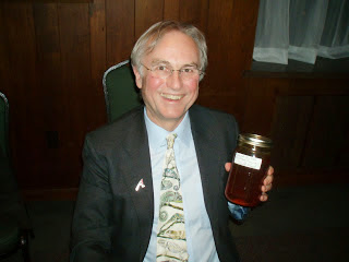Dawkins and his honey
