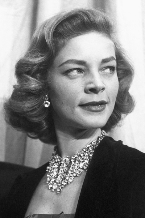 Retro Gran Lauren Bacall Hair It S Not