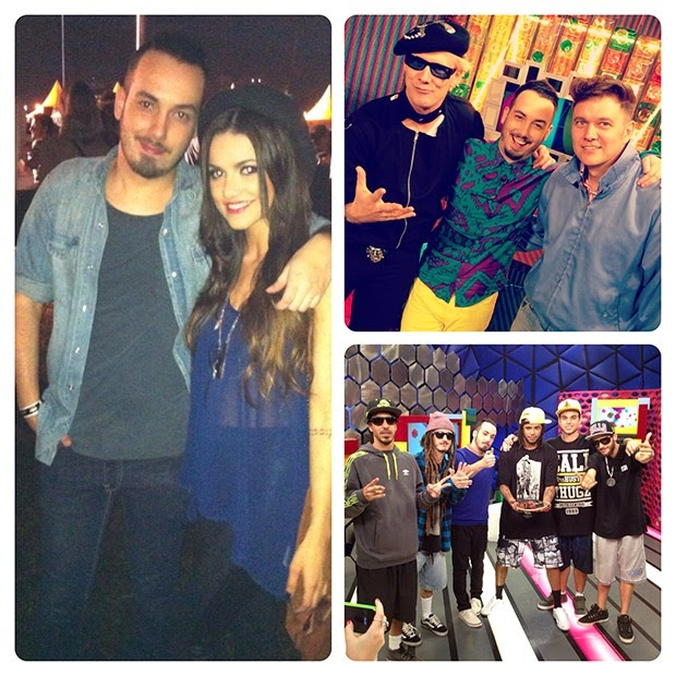 Didi Effe com Cone Crew e Manu Gavassi, Brothers of Brazil