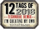 Tim Holtz Tags of 2016