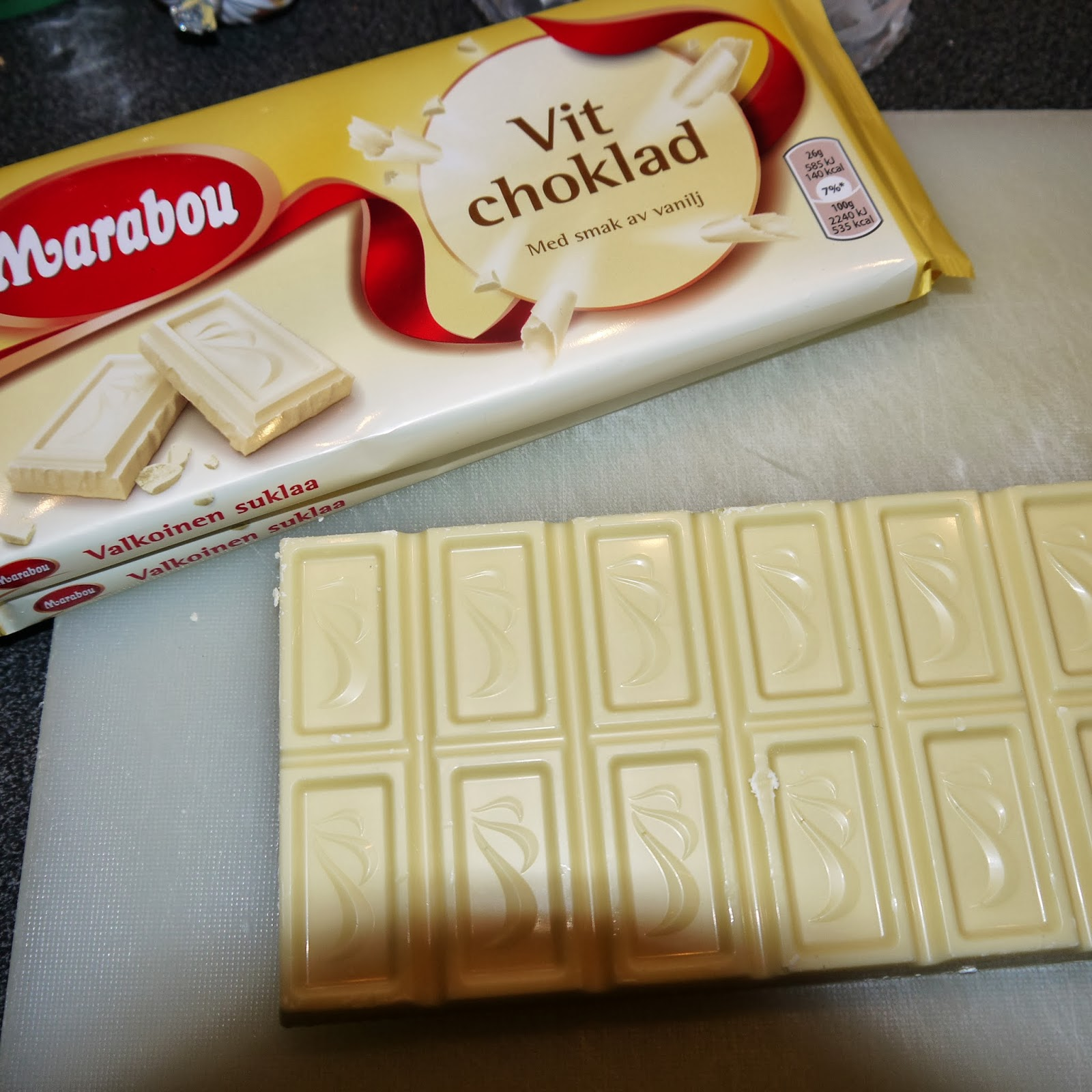 vit choklad fyllning