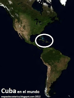 Cuba en América, vista aéea (bing) 2012