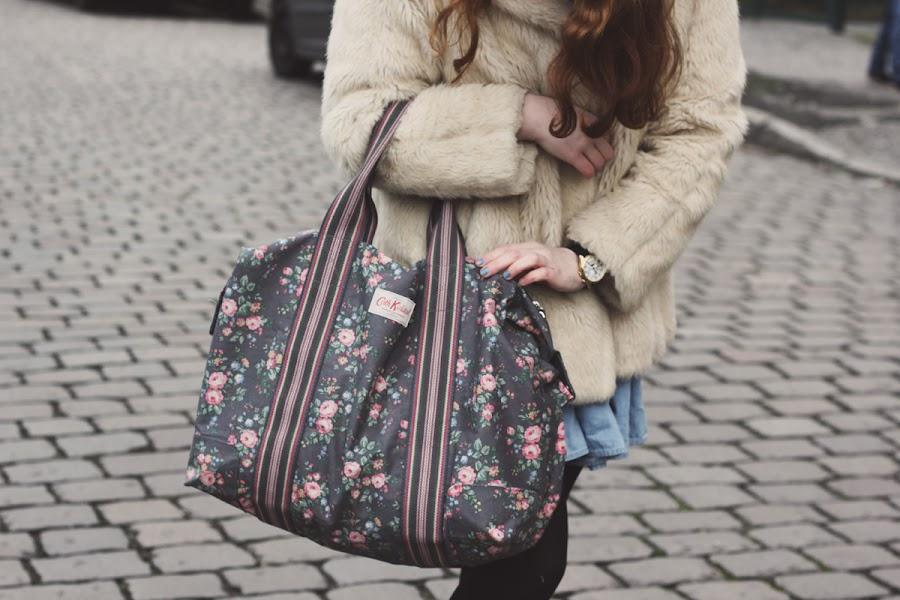 cath kidston foldaway weekend bag