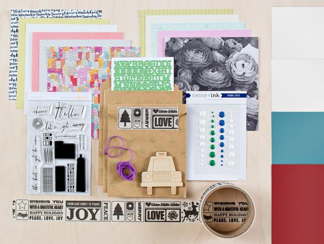Studio Calico Park Ave. card kit
