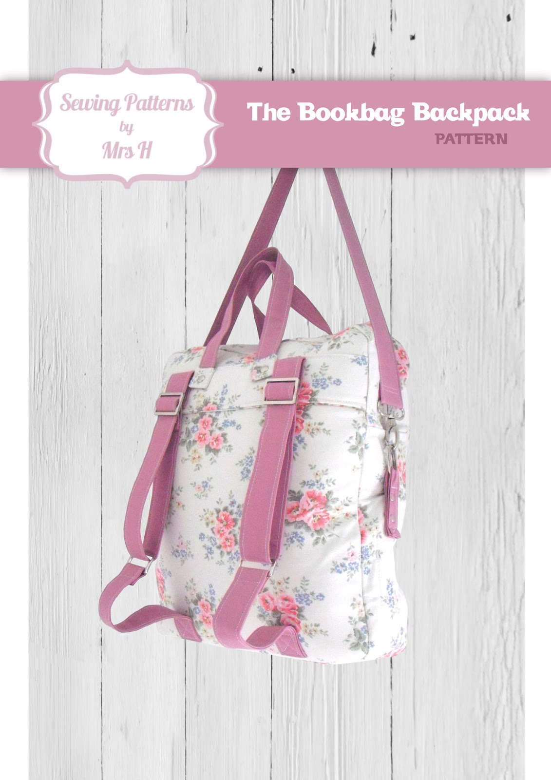Mrs H - the blog: The Bookbag Backpack