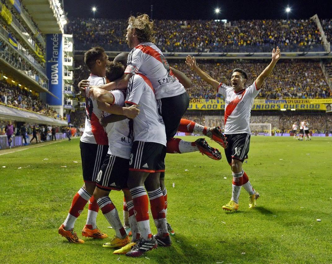 horario superclasico Sudamericana
