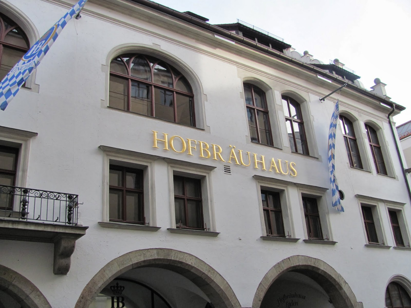 Hofbrauhaus Exterior Munich Germany