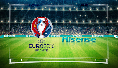 Hisense firma como patrocinador global de la EURO 2016