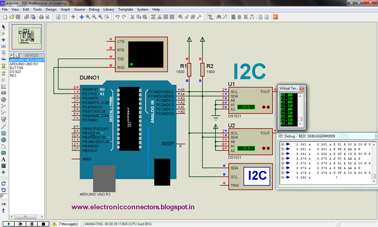 I2C+PROTUES+ARDUNINO+PIC+16F877A+DS1621+C+PROGRAMMING+ROBOT+wwwelectronicconnectorsblogspot+in rs485 wiring diagram rs 485 remote control wiring diagram ~ odicis  at aneh.co