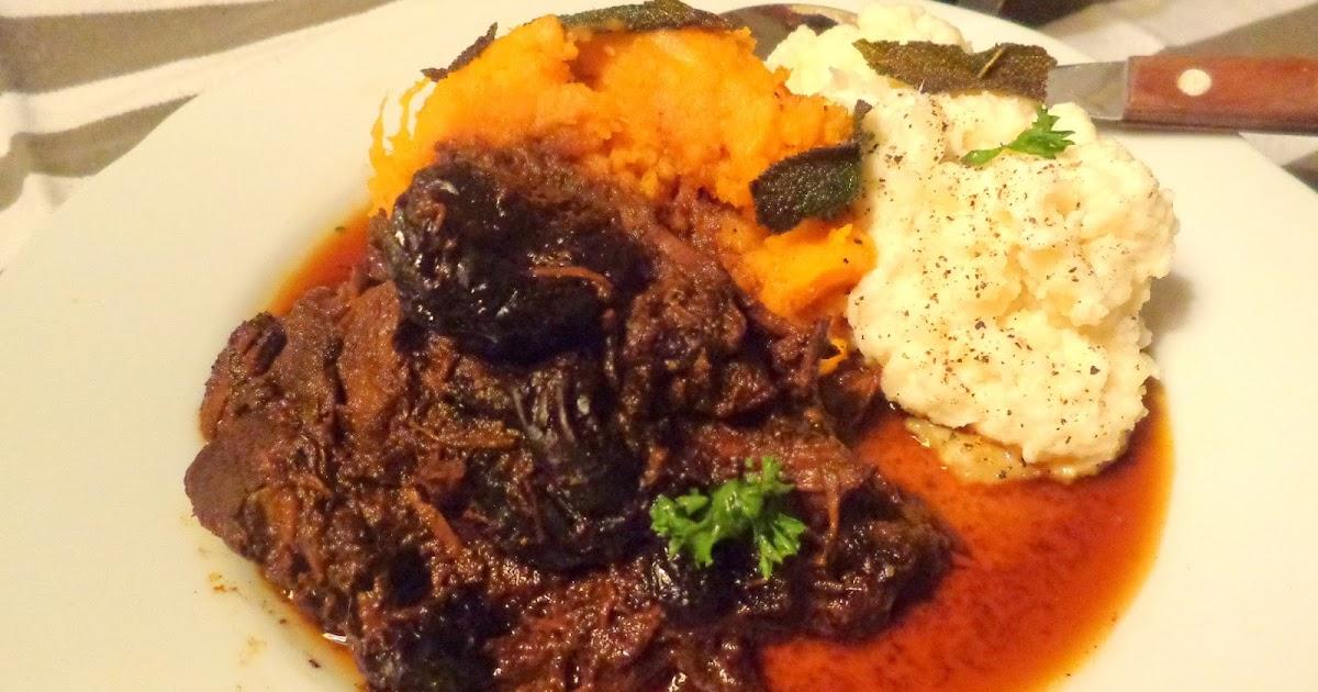 Engelse Keuken Woorden : Wat ik gegeten heb: Stoofpot van rundvlees en Guinness van Nigella