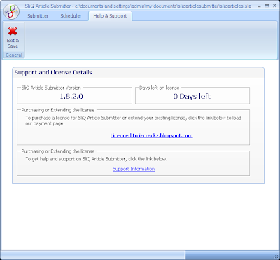 SliQ Article Submitter 1.8.2.0 Cracked