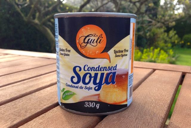 La Guli Condensed Soya Milk: dairy-free and vegan
