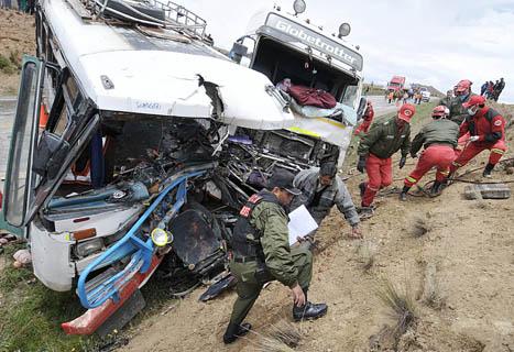 Accidentes en Bolivia