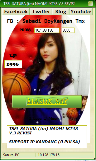 Download Inject TSEL SATURA (tm) NAOMI JKT48 V.3 REVISI