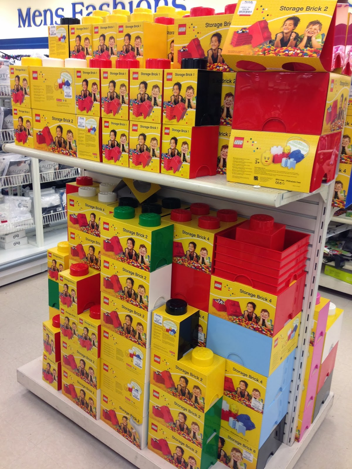 New Columbia Heights Pretty neat Lego storage containers at Marshalls