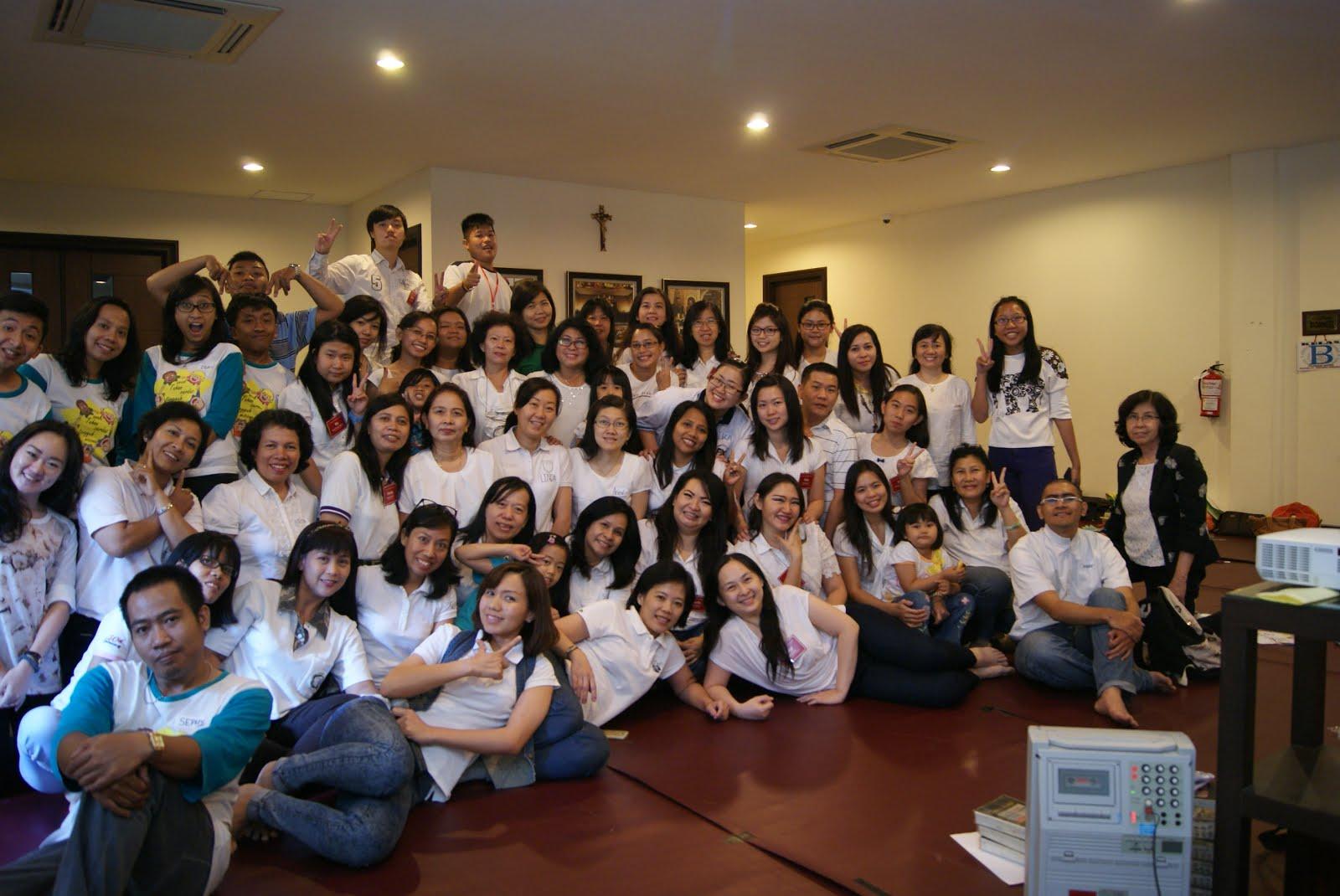 Bersama Para Pendamping BIAK Paroki ST.Yakobus Surabaya 19-20 September 2015
