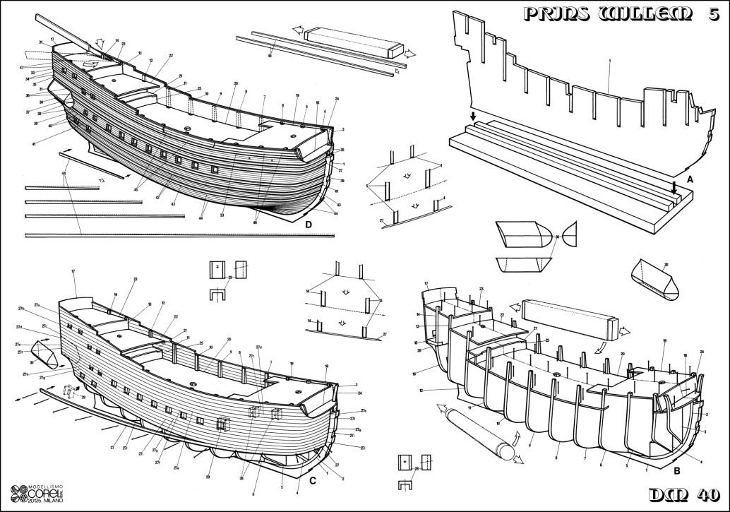 model ship plan hms crescent 1779 pdf
