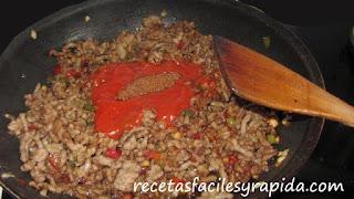 carne para empanadillas