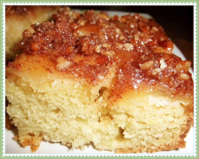 Rosie's Country Baking: Apple-Pecan Upside Down Cake