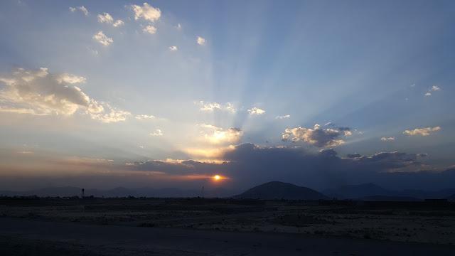Bagram - Kabul Highway.