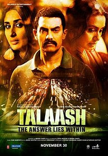 Talaash (2012 - movie_langauge) - Aamir Khan, Kareena Kapoor, Rani Mukerji, Nawazuddin Siddiqui, Raj Kumar Yadav, Shernaz Patel, Subrat Dutta, Om Prakash, Sachin Patil
