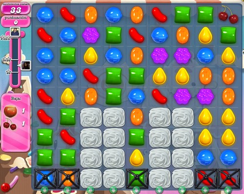 Nivel 49 de Candy Crush Saga