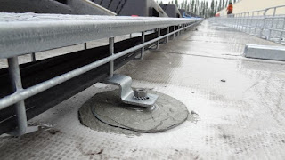Cable Tray on Membrane Roof