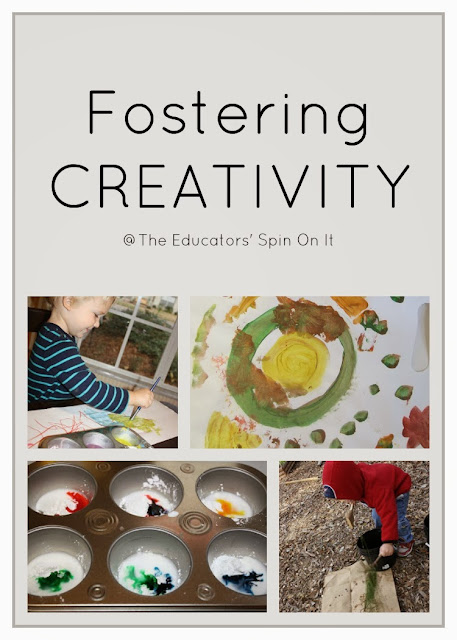 Fostering creativity and problem solving through play and learning activities
