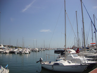 Sant Carles de la Rápita Port and boats Photo - Tarragona - Spain