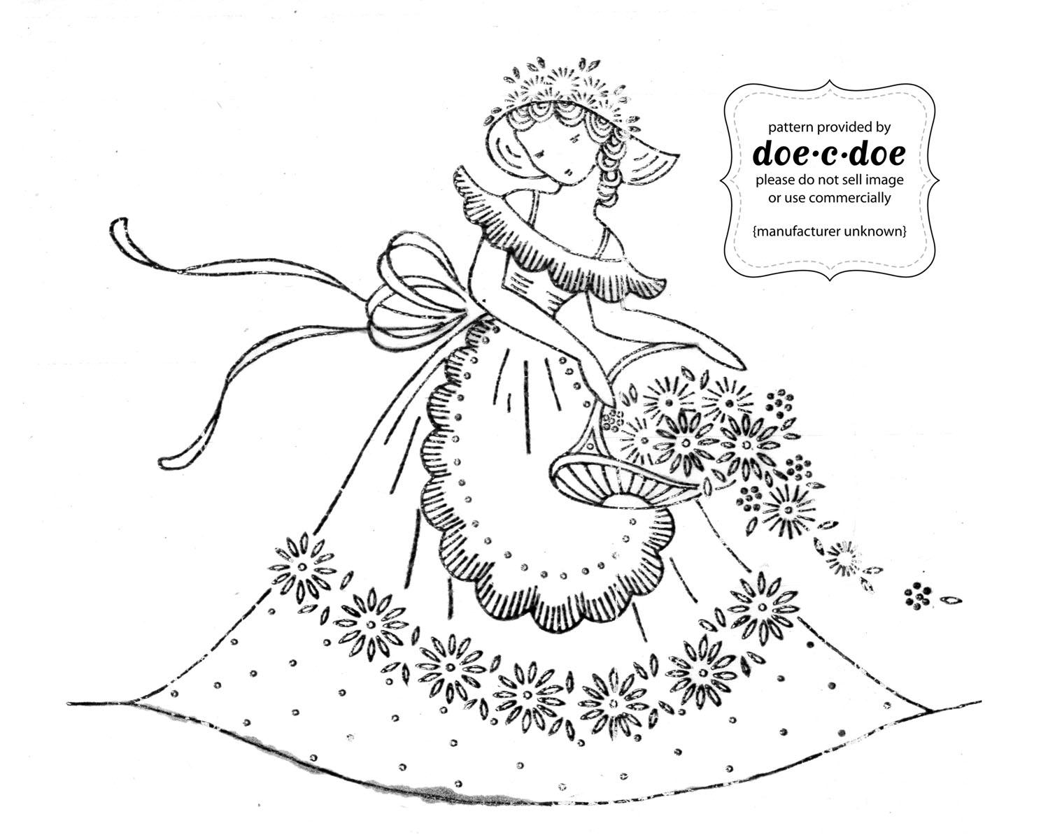 Doe c thursday embroidery