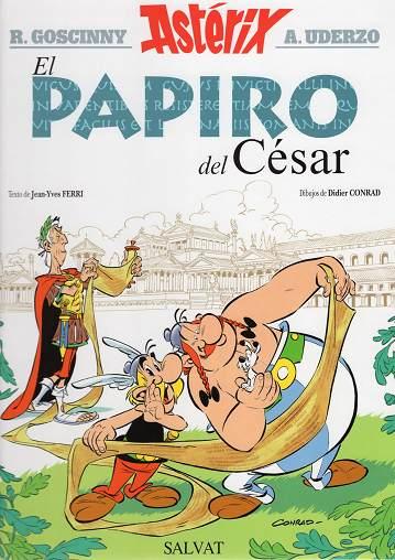 Actualización 30/12/2015: Asterix el Galo - Cyberpelotilla nos trae el numero 36 en pdf, el papiro del cesar.