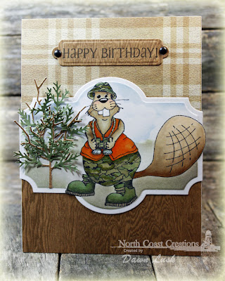 Stamps North Coast Creations Hunting  Buford - Designer Dawn Lusk