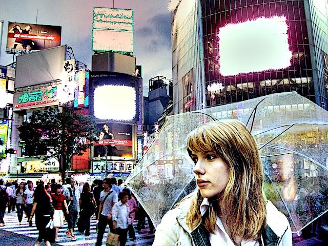 Tokyo y Scarlet Johanson en Lost in traslation