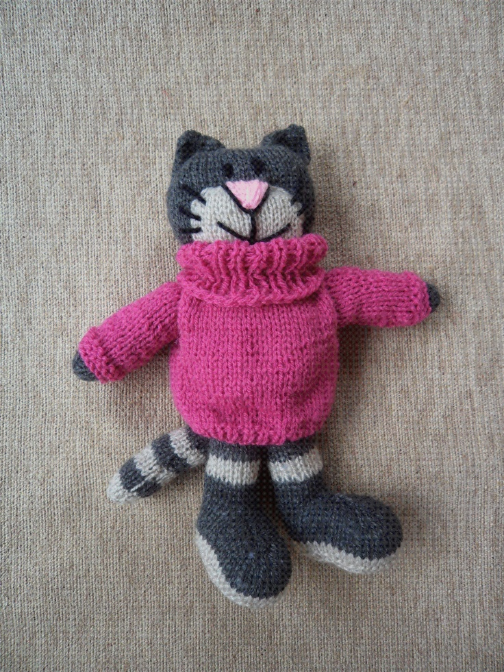 The Spicy Knitter: Knitted Cats