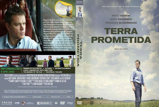 Capa DVD Terra Prometida