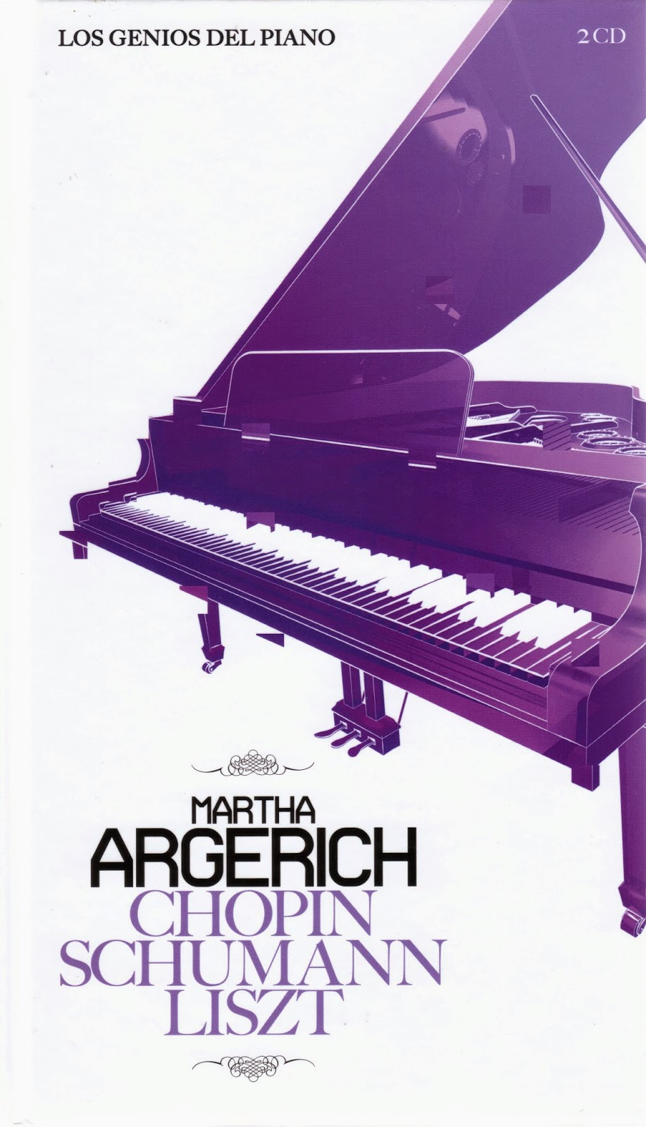 Imagen de Colección Los Genios del Piano-04-Marta Argerich & Chopin, Schumann y Liszt