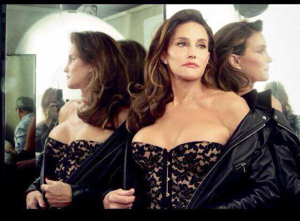 Caitlyn Jenner poses for Vanity Fair July 2015