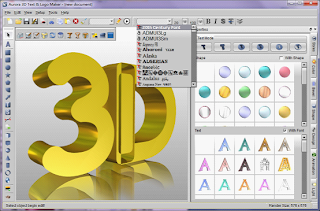 3D Headings,برنامج الكتابة على الصور