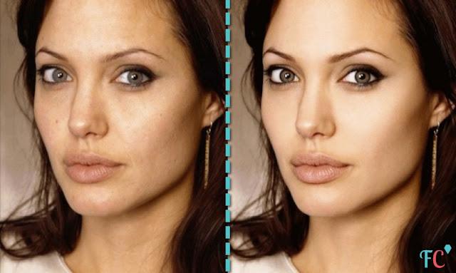 Angelina-Jolie face