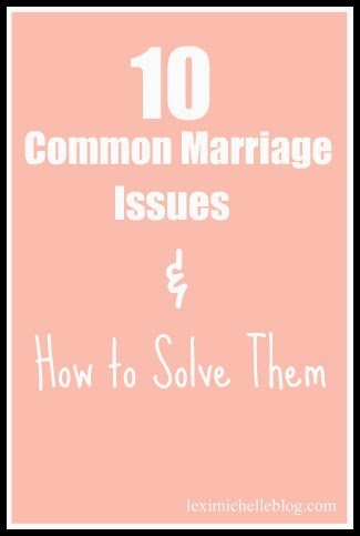 Most Common Marriage Issues