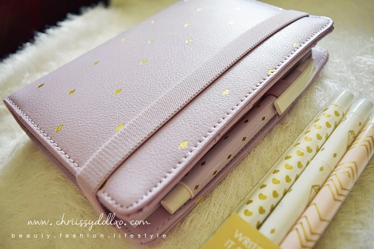 kikki.K 2015 Leather Time Planner in Lilac Medium - Review and See What's Inside!