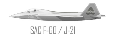 SAC 5th Generation Stealth Fighter F-60