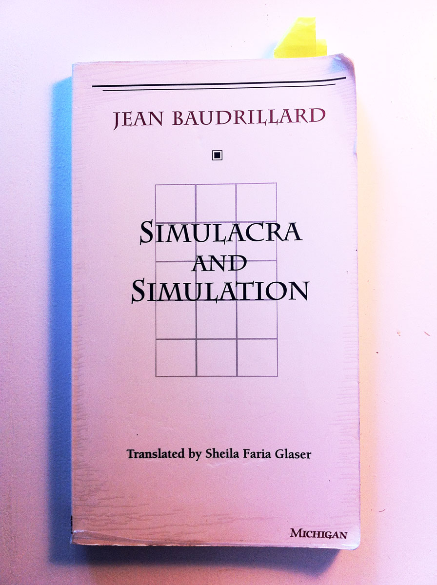 simulacra and simulation essays