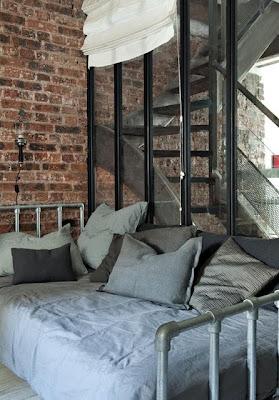 hermoso loft estilo industrial