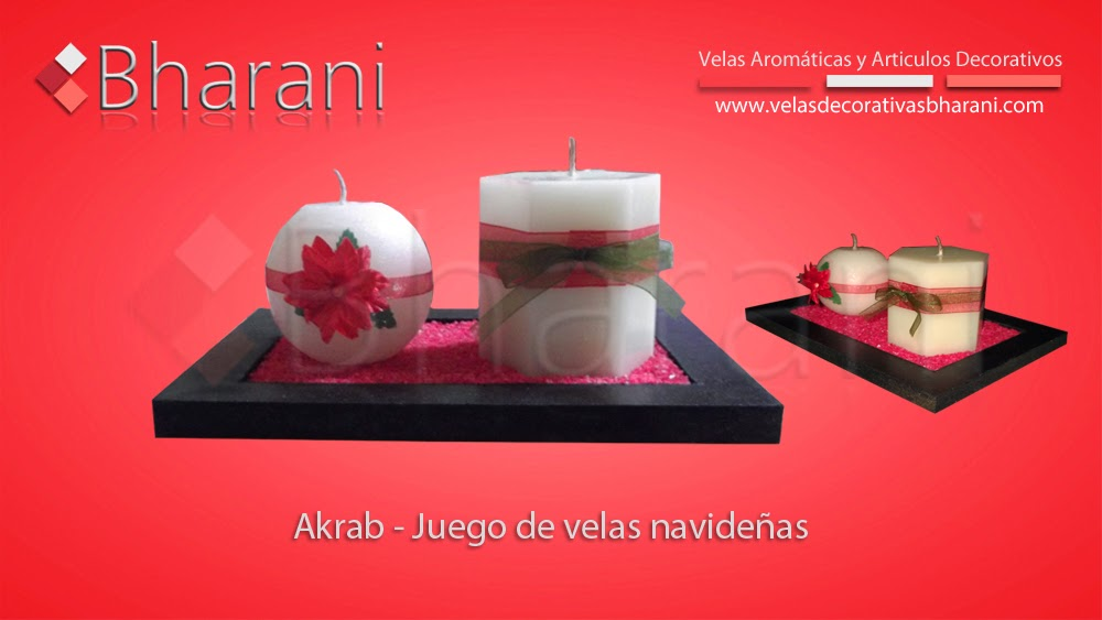 Decoraci nes para toda ocasi n velas decorativas navide as - Velas decorativas grandes ...