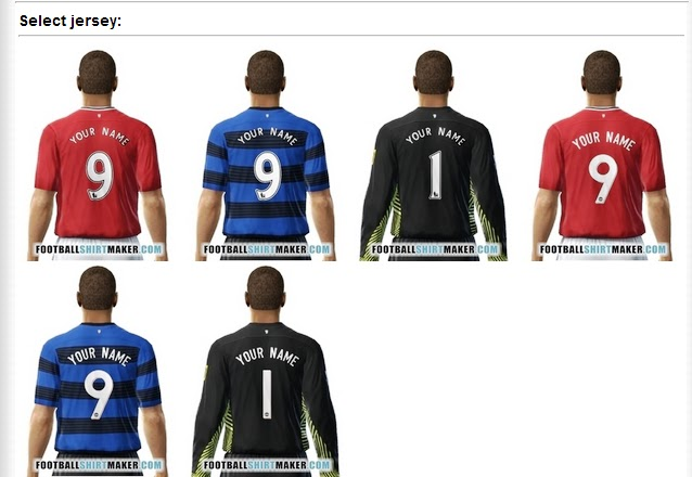 Create Football Jersey for Facebook-TechBase