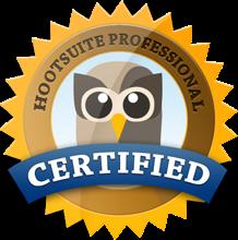 Profesional certificado por Hootsuite