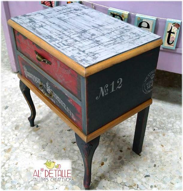Rosabel manualidades muebles recuperados for Muebles basauri