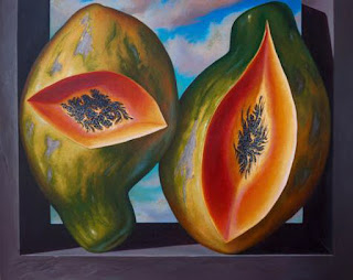 Pinturas Frutas al Oleo Bodegones