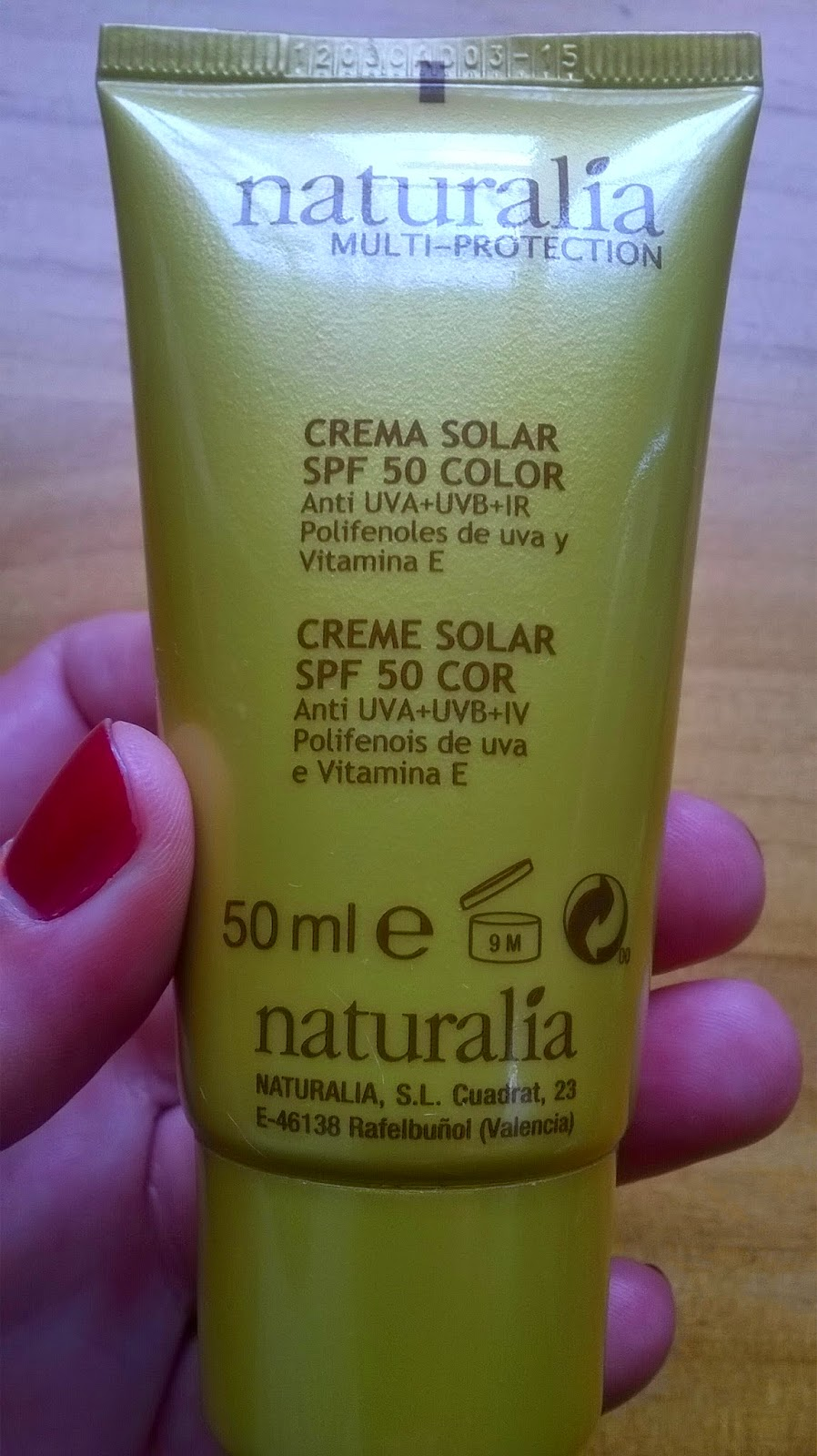 propiedades crema naturalia